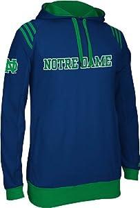 Notre Dame Fighting Irish Adidas 2013 NCAA 3 Stripe Pullover Sweatshirt by adidas