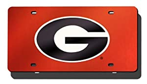 NCAA Georgia Bulldogs License Plate Cover by Rico