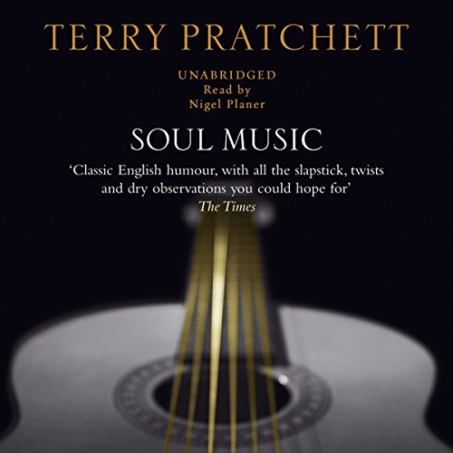 soul music pratchett terry audiobook audible discworld sample