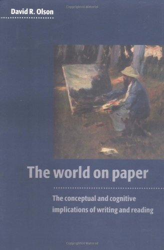 The World on Paper: The Conceptual and Cognitive...