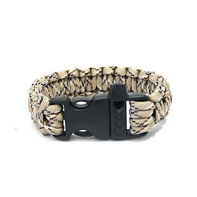 Zcl Fashion Plastic Connector Buckle Rope Bracelet