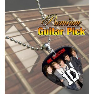 Printed Picks Company 5055287682666 One Direction Premium Guitar Pick Necklace from Printed Picks Company
