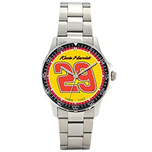 NASCAR Mens NC-HAR Kevin Harvick Crew Chief Series Watch by Game Time