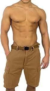 BDU Shorts Kurze Short Hose Herren in verschiedenen Farben Farbe Coyote Größe 3XL