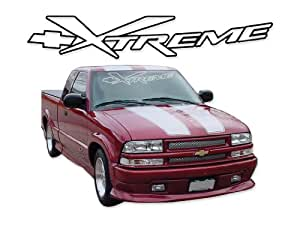 2002 2003 Chevrolet Truck S10 Xtreme Extreme Decals & Stripes Kit - YELLOW