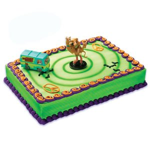 Scooby Doo And Mystery Machine Party Cake Topper Set - 1