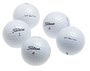 Titleist DT SoLo Recycled Golf Balls (36 Pack) by Titleist