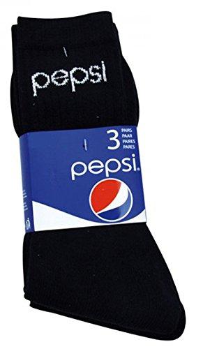 pepsi-mens-sports-socks-3-pcs-black-eu-43-46-uk-9-11