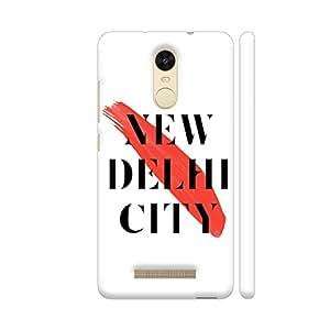 Colorpur New Delhi City Printed For Xiaomi Redmi Note 3 (White)