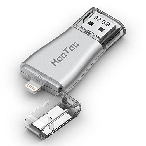 ライトニング USB メモリ HooToo USB 3.0 フラッシュドライブ Lightningコネクタ搭載 iPad iPhone iPod などに対応 32GB HT-IM001