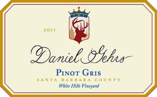 2011 Daniel Gehrs Pinot Gris 750 Ml