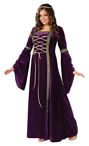 Renaissance Lady Adult Costume Size:Plus
