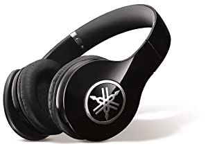Yamaha PRO 400 High-Fidelity Over-Ear Headphones (Piano Black)