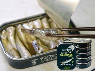 竹中缶詰 サンフェース印 オイルサーディン 105g 5缶セット