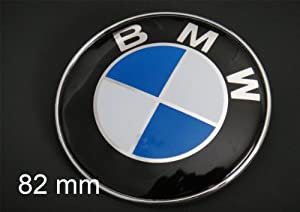 Bmw E21 E30 E36 E46 E60 E67 E90 E91 Hood Emblem Badge 82mm