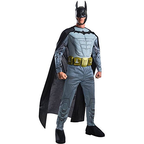 Arkham Batman Muscle Chest Adult Costume
