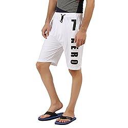 Hotfits white graphic summer shorts
