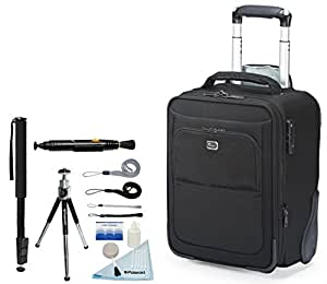 Lowepro NEW Pro Roller X100 AW Photo Rolling Case For Dslr Cameras & Lenses + Accessory Kit