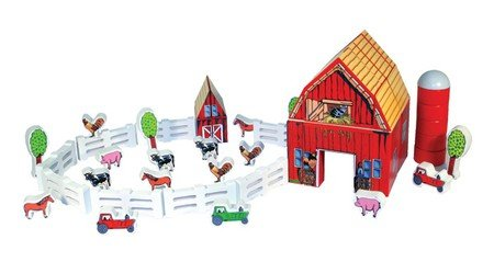 Melissa & Doug Farm Blocks