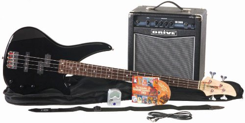 Music online store yamaha gigmaker bass guitar and amp for Yamaha bass guitar amplifier