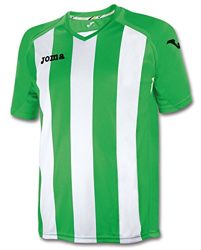 Joma, T-Shirt Pisa 12 Green/White M/C, Taglia: XL
