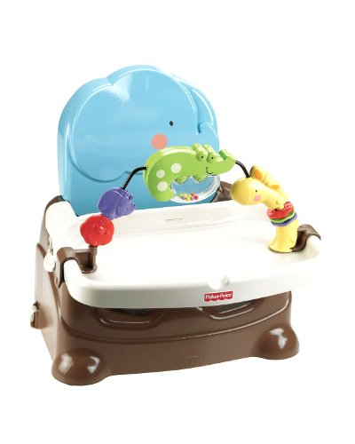 Fisher-Price Luv U Zoo Busy Baby Booster (Discontinued by Manufacturer)