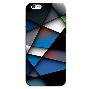 ABSTRACT BLUE BACK COVER FOR APPLE IPHONE 6S