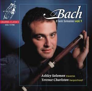 Sonates pour flûte BWV 1013, 1030, 1033-1035  (vol.1)