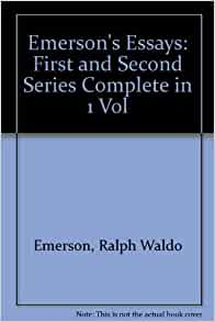 emerson essays first series summary