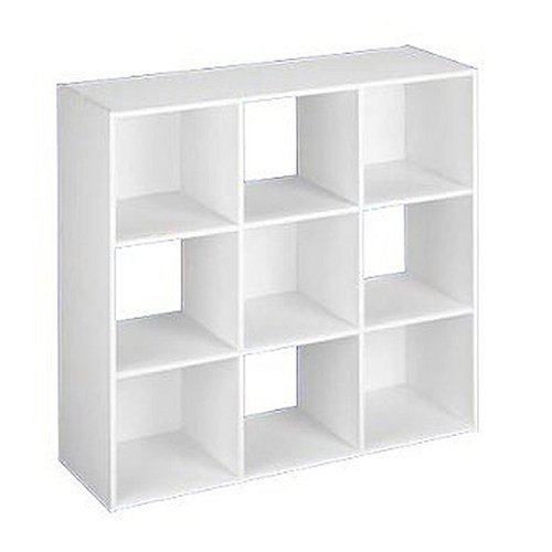 ClosetMaid 8644 9 Cube Organizer, White