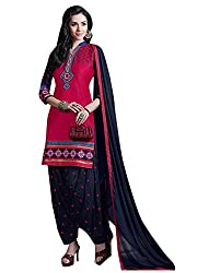 Ruaab Fashion Women Cotton Designer Patiala Salwar Kameez Dress Material(RF_AD_393)