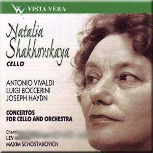 Natalia - Vivaldi, Boccerini, Haydn - Concertos for cello and orchestra - Natalia Shakhovskaya - Zortam Music