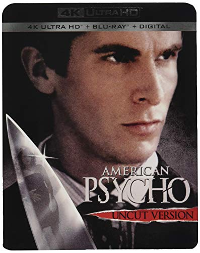 4K Blu-ray : American Psycho (With Blu-ray, 4K Mastering, 2 Pack, 2PC)