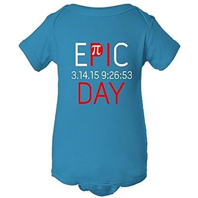 Epic Pi Day 3.14 One Piece Baby Bodysuit