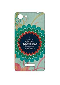 VDESI Designer Matte Back Cover For Micromax Unite 3 (Q372)- GiveUpShopping (Mrn)