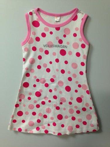 Genuine Volkswagen Girls Polka Dot Dress- Size - 4T