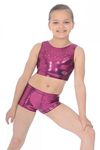 chic-shiny-nylon-lycra-hipster-gymnastics-shorts-38-berry