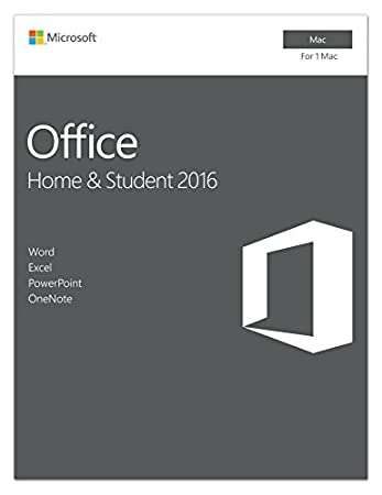 Microsoft Office Home and Student 2016 for Mac | Mac Key Card
