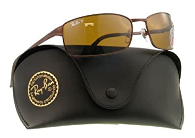 Ray Ban Sunglasses RB3269 014/57 Brown/Crystal Brown Polarized, 63mm