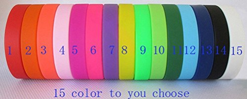 ZYYX Custom Silicone Wristband (Custom Rubber Wristbands compare prices)