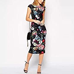 Cozer Creation Floral Printed western wear Black Dress Material