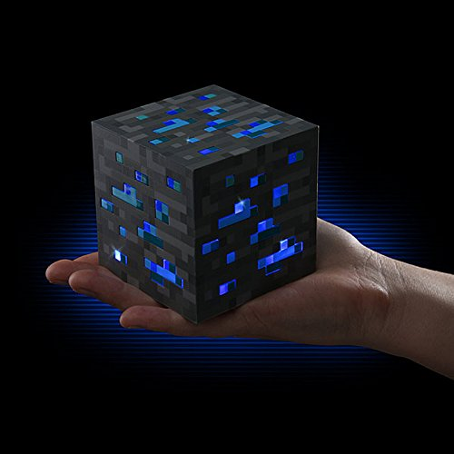Minecraft Night light Cube Diamanterz 1-2-3 (Diamond Ore)