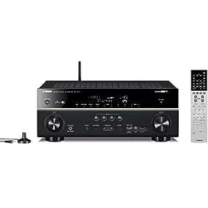 ヤマハ AVレシーバー 7.1ch Airplay/4K/ネットワークオーディオ/ハイレゾ音源対応 ブラック RX-V777(B)