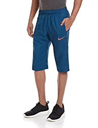 Nike Men's Synthetic Shorts (888407740022_644300-496_Small_Blue Force)