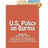 U.S. Policy on Burma