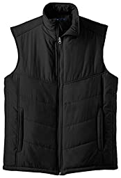 Port Authority - Quilted Puffy Vest. J709,XX-Large,Black