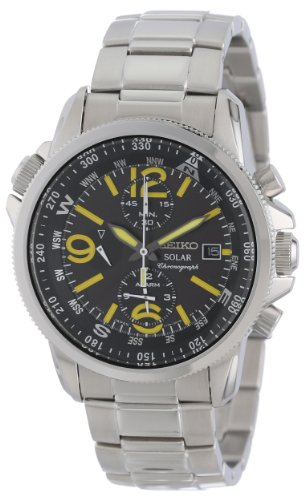 Seiko Men's SSC093 Adventure-Solar Classic Watch