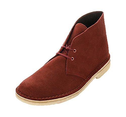 clarks-mens-desert-boot-derby-red-size-8-uk