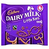 Cadbury Dairy Milk Little Bars 6 Pack