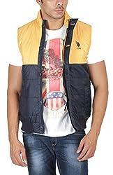 US Polo Association Men's Cotton Sweatshirt (8907163185754_USSS0110_Large_Forest Night)